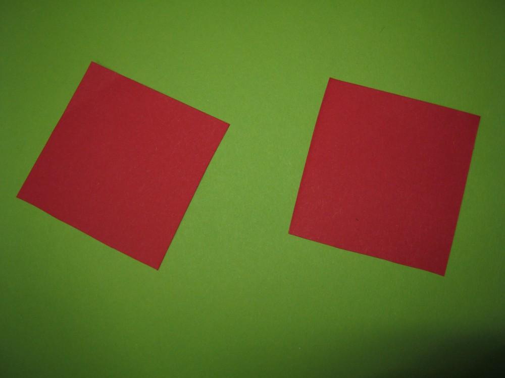 Martisoare cu buburuze origami (2/6)